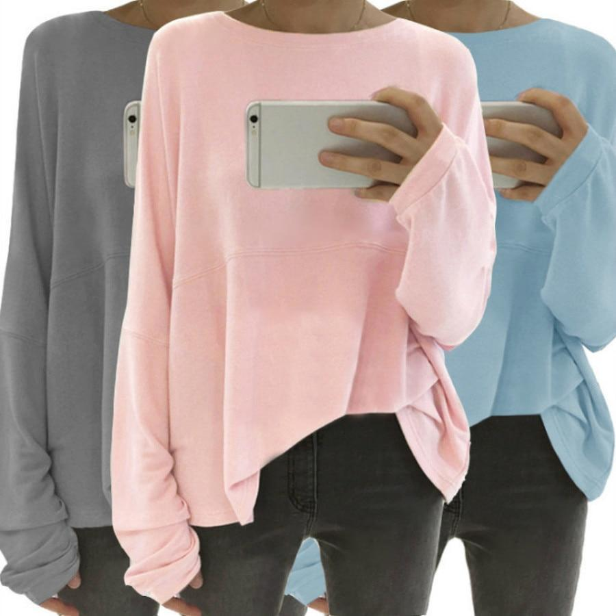 Loose Long Sleeve Fall Casual Shirts & Tops - New York Galore