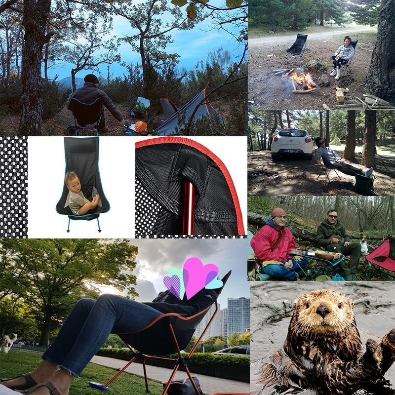 Portable Outdoor Ultralight Camping Chair AmericanGalore