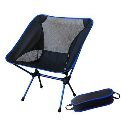 Portable Outdoor Ultralight Camping Chair AmericanGalore SF73300DB