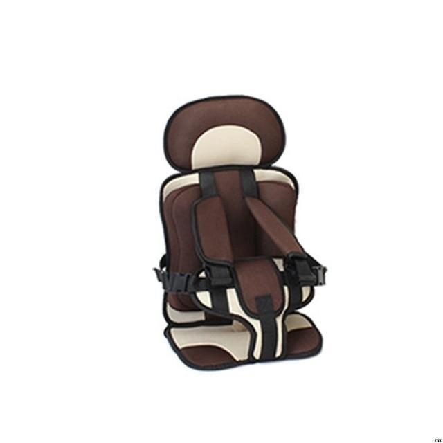 Portable Toddler Travel Car Seat AmericanGalore Brown/Beige