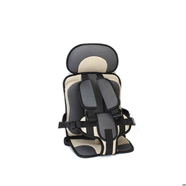 Portable Toddler Travel Car Seat AmericanGalore Dark Gray/Beige