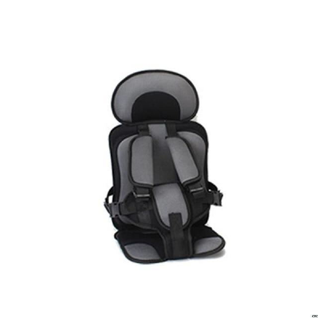 Portable Toddler Travel Car Seat AmericanGalore Dark Grey/Black