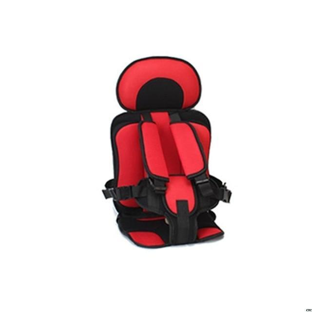 Portable Toddler Travel Car Seat AmericanGalore Red/Black