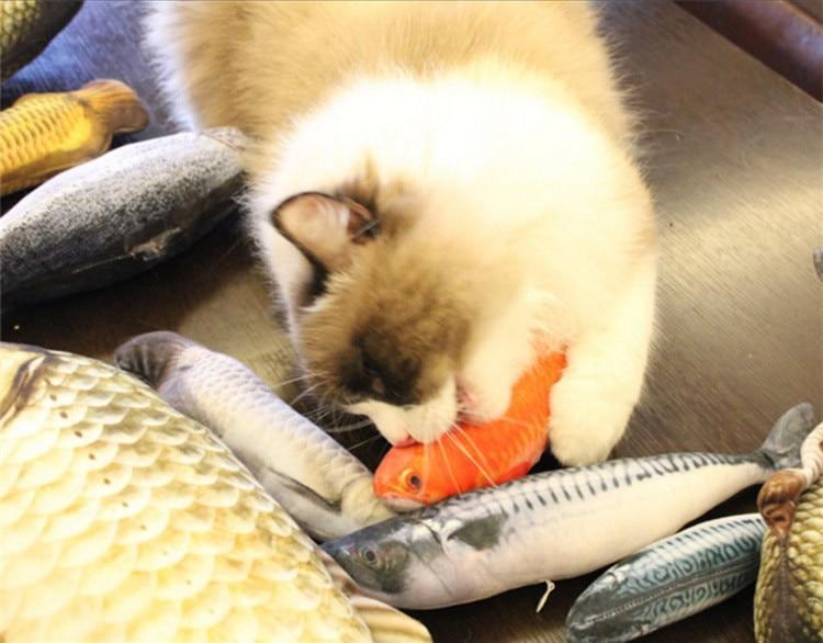 Premium Quality Fish Toy For Cats AmericanGalore