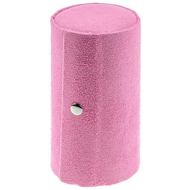 Roll-Up Jewelry Travel Case AmericanGalore Pink
