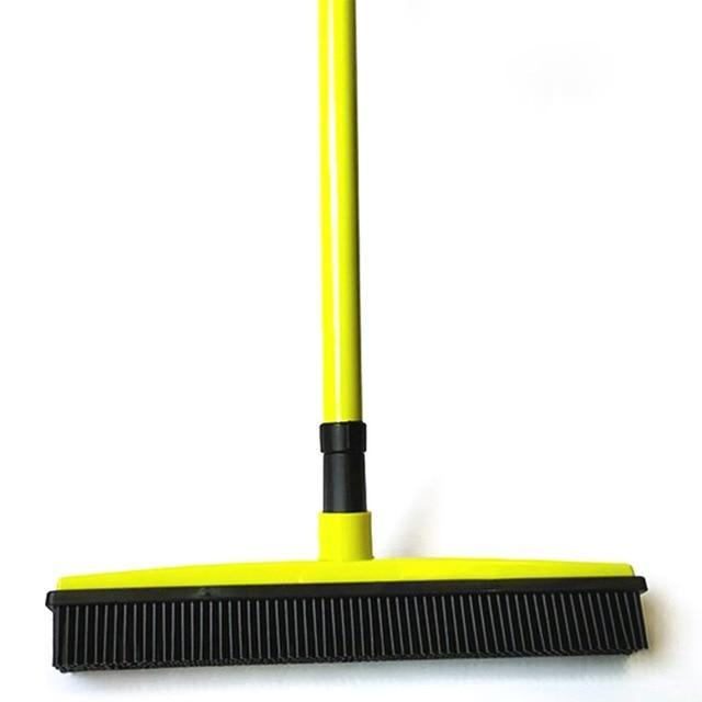 Rubber Squeegee Broom AmericanGalore Green