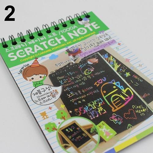 Scratch-Off Magic Rainbow Notebook - New York Galore