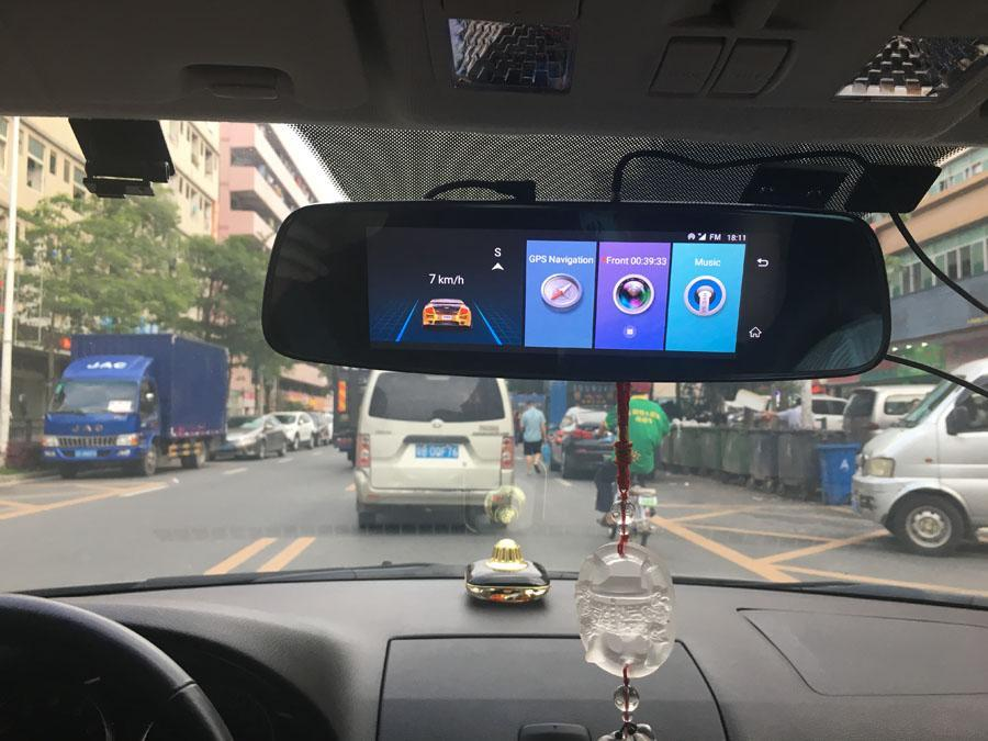 Touch Screen Digital Rear-View Mirror AmericanGalore
