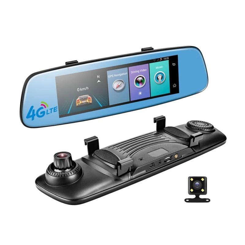 Touch Screen Digital Rear-View Mirror AmericanGalore Package A E06 16GB card