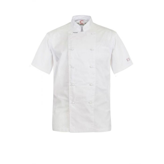 CJ049 EXECUTIVE CHEFS LIGHTWEIGHT JACKET - SHORT SLEEVE $35.00 (GST incl)