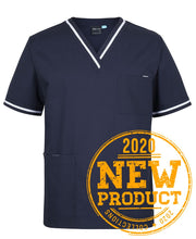 Load image into Gallery viewer, 4SCT UNISEX CONTRAST SCRUBS TOP $39.00 (GST incl)