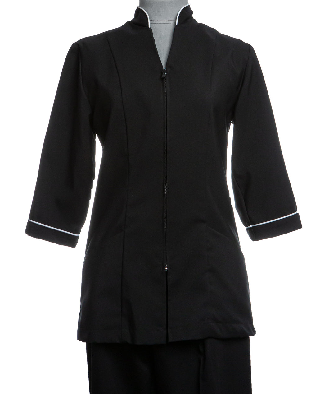 M948T – Spa Jacket 3/4 sleeve with trim