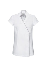 Load image into Gallery viewer, H134LS - Ladies Zen Crossover Tunic SALE $58 (GST incl)