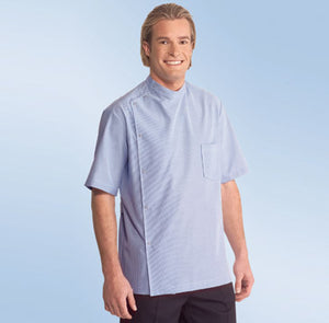 M831PB – Ben Casey FITTED PLEATED BACK short sleeve from $79 (GST incl)