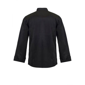 CJ035 EXECUTIVE CHEFS JACKET WITH BUTTONS - LONG SLEEVE - $37.00 (GST incl) SALE