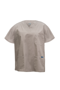 UNISEX SCRUB TOP WITH POCKET M88000 $32.00 (GST incl)