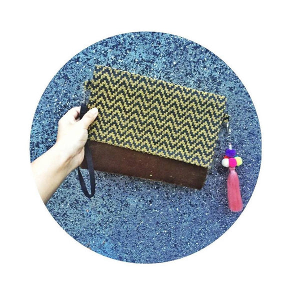 Tribal Clutch - Yellow