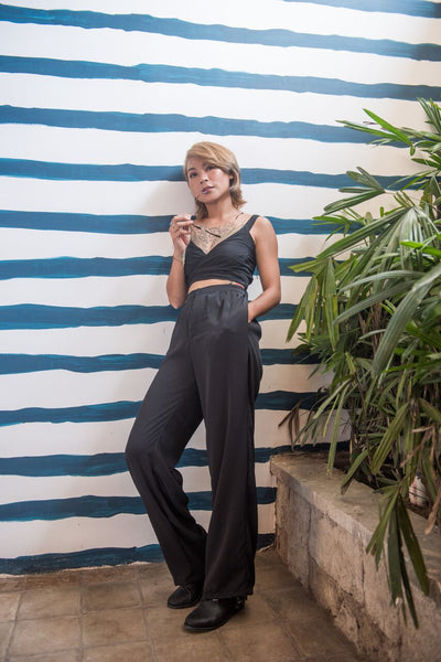 Riley Jumpsuit - Plain Black