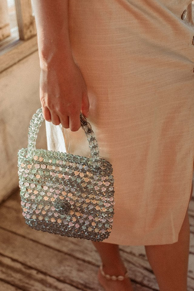 Candy Beaded Bag