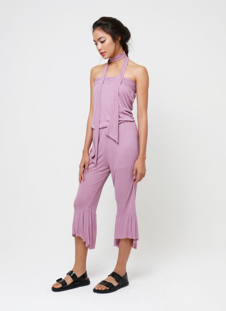 Joy Tube Jumpsuit - Soft Purple