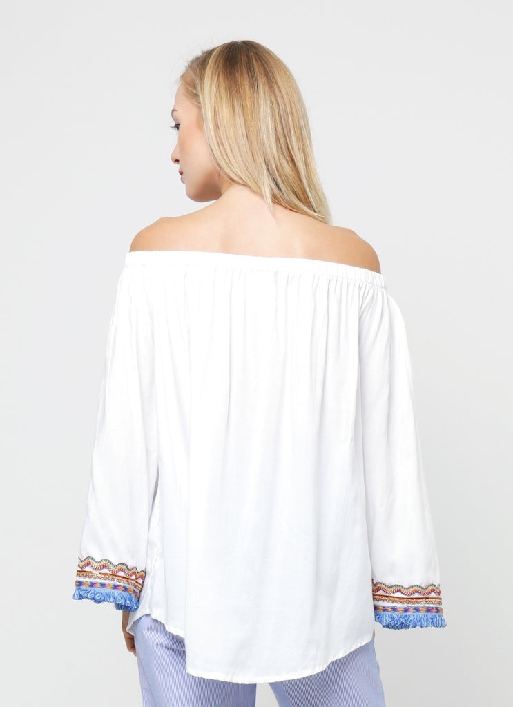 Syeira Top - White
