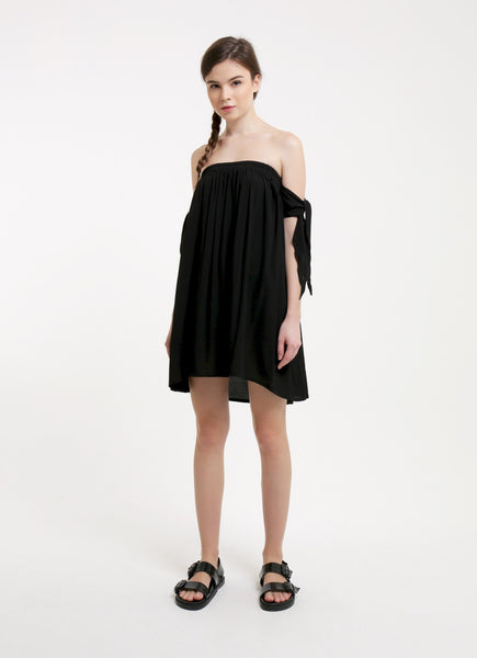 Kayla Dress - Plain Black