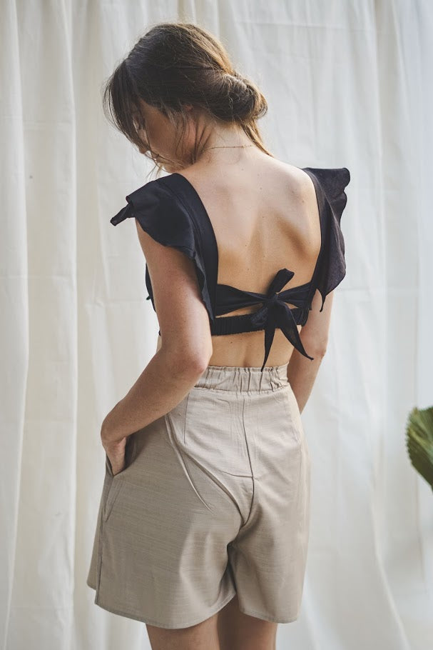 Bow Top - Black