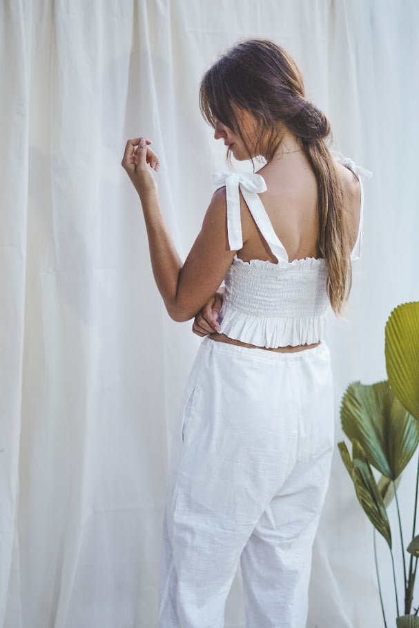 Fay Top - White