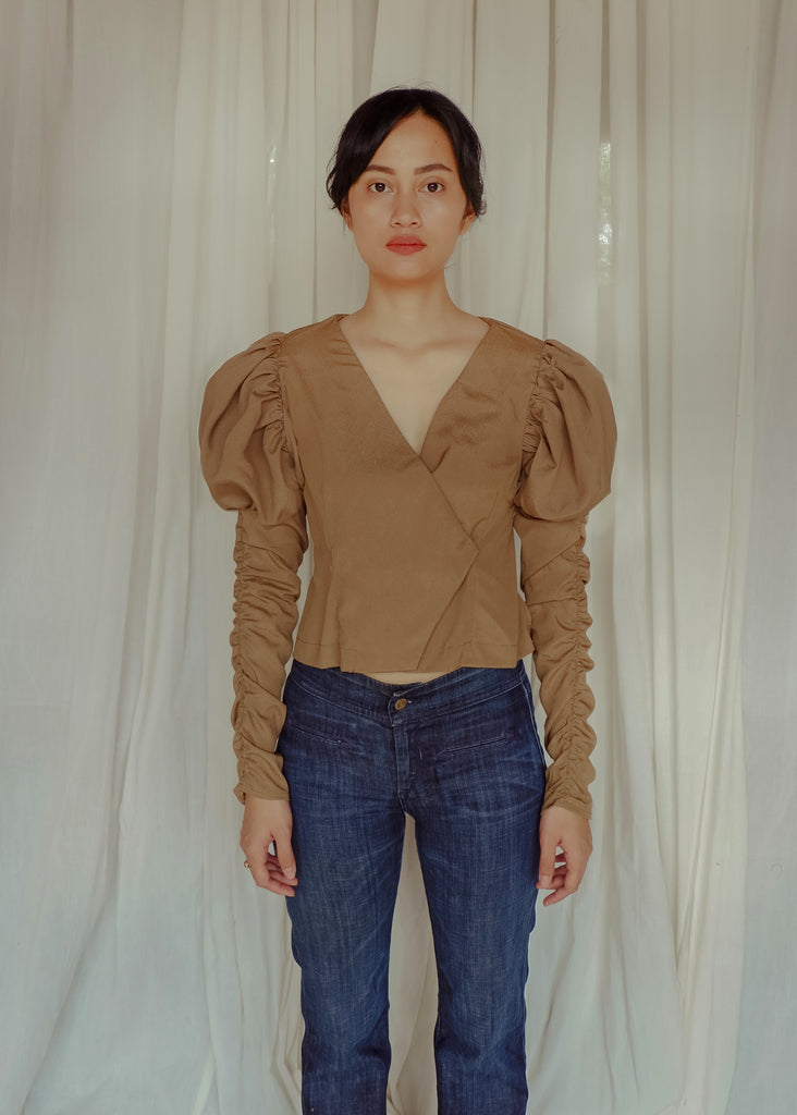 Edith Blouse - Olive