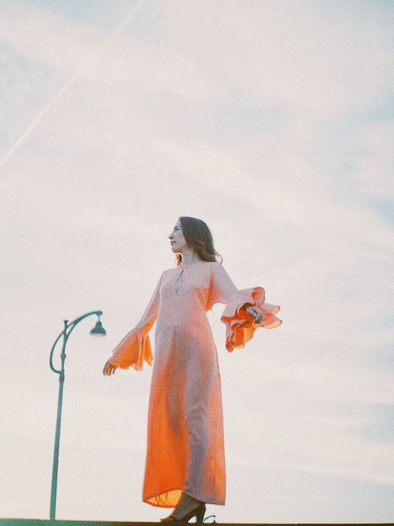 TROPEZ GOWN - PEACH
