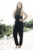 Terrel Tie Waist Jumpsuit - Black