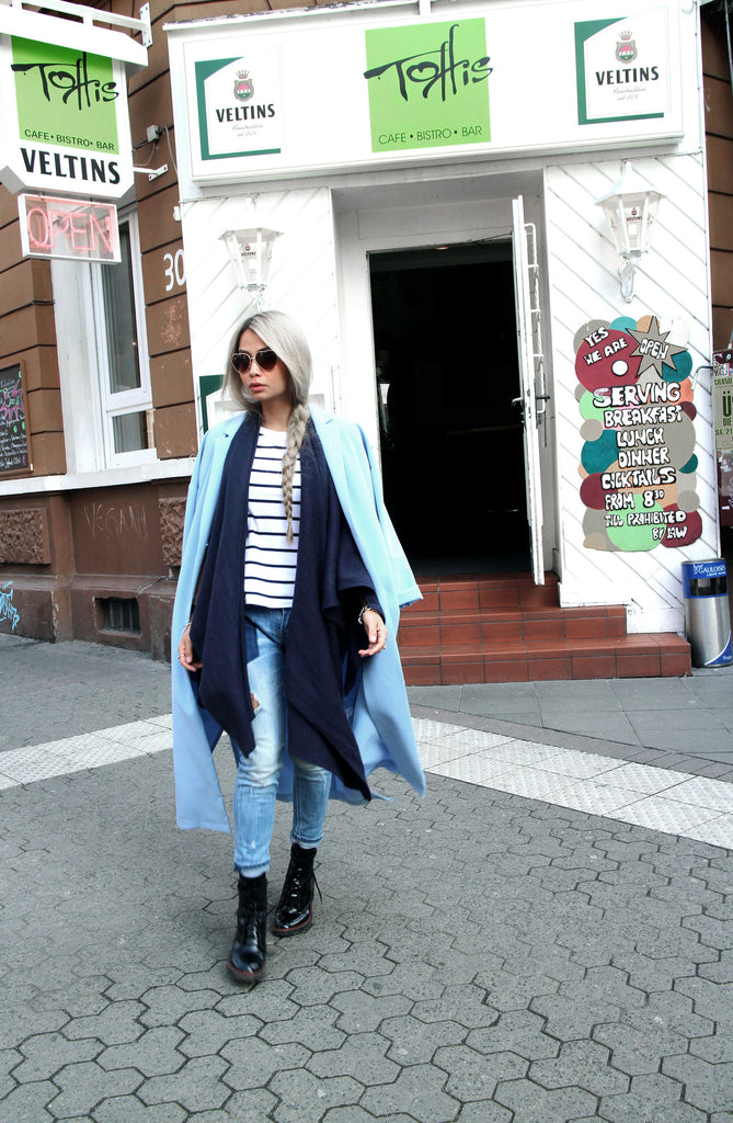 Kai Jacket Coat - Blue