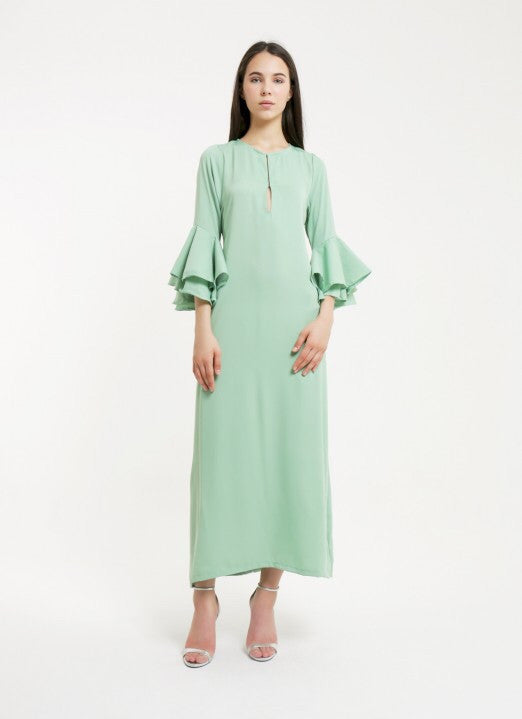 TROPEZ GOWN - MINT GREEN