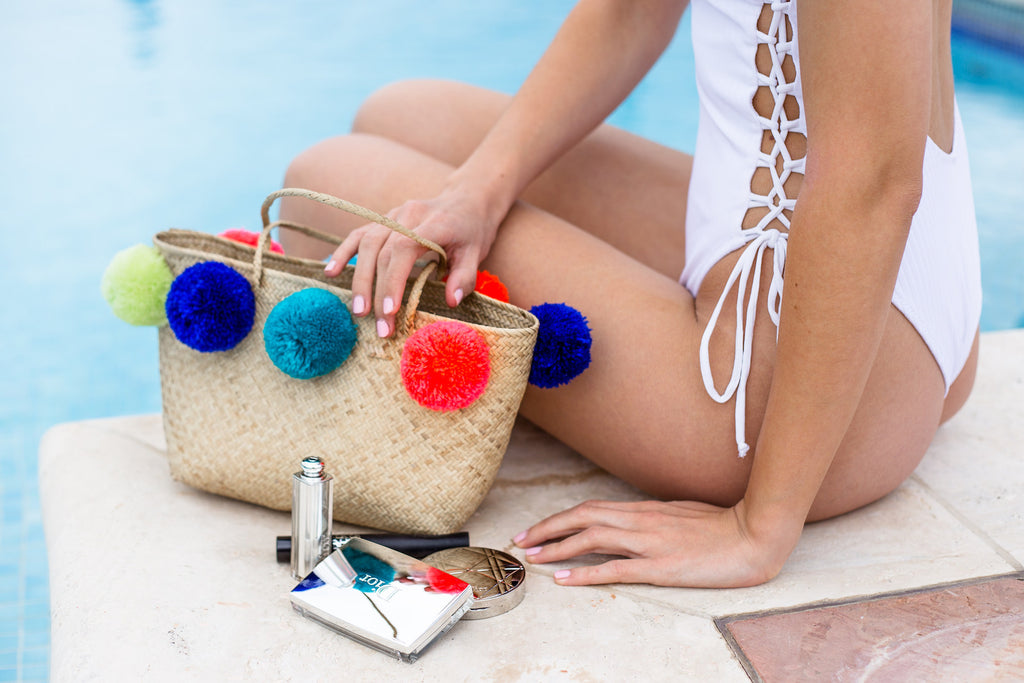 Pom Pom Mini Purse