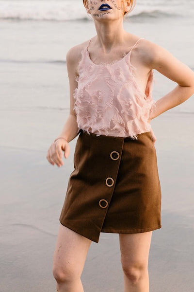Ring Skort - Brown
