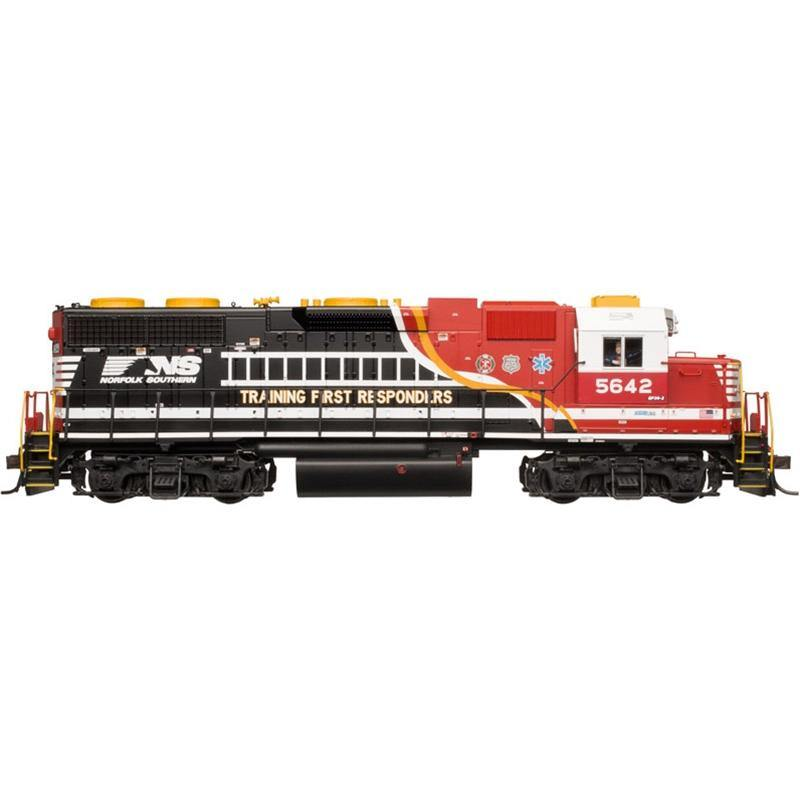 "Atlas #10002369 HO Scale GP38 SILVER NORFOLK SOUTHERN ""FIRST RESPONDERS"" #5642"