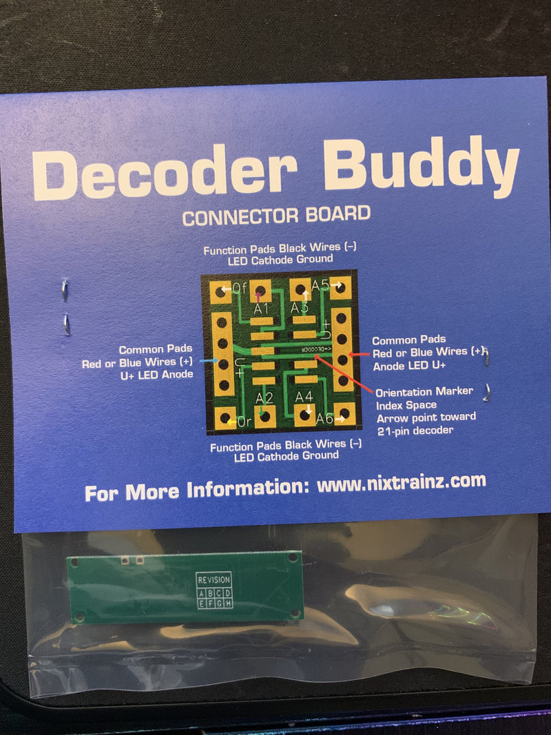 Decoder Buddy Original (1K Ohm, 8 Outputs) - Squeaky's Trains & Things