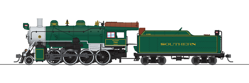 [Pre-Order] Broadway Limited Imports 6352 2-8-0 Consolidation, SOU (Southern)