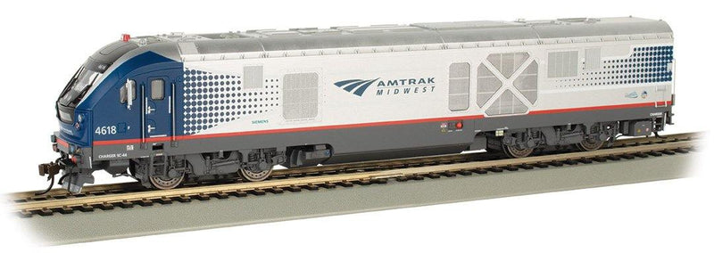 Bachmann #67901 AMTRAK MIDWEST #4618 - CHARGER SC-44 - DCC WOWSOUND® (HO Scale)