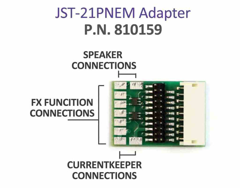 JST-21PNEM Adapter - Squeaky's Trains & Things