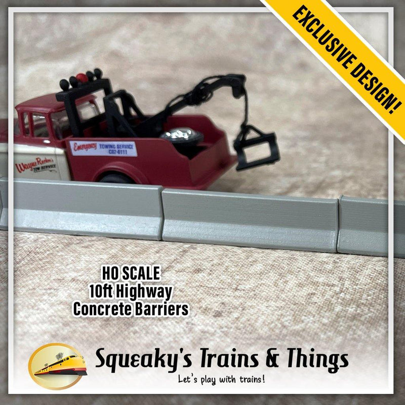 Squeaky's Trains