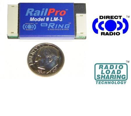 Ring Engineering LM-3 RailPro HO Scale Locomotive Module without Sound.