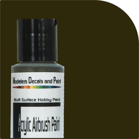 Pullman Green Airbrush Paint - Squeaky's Trains & Things