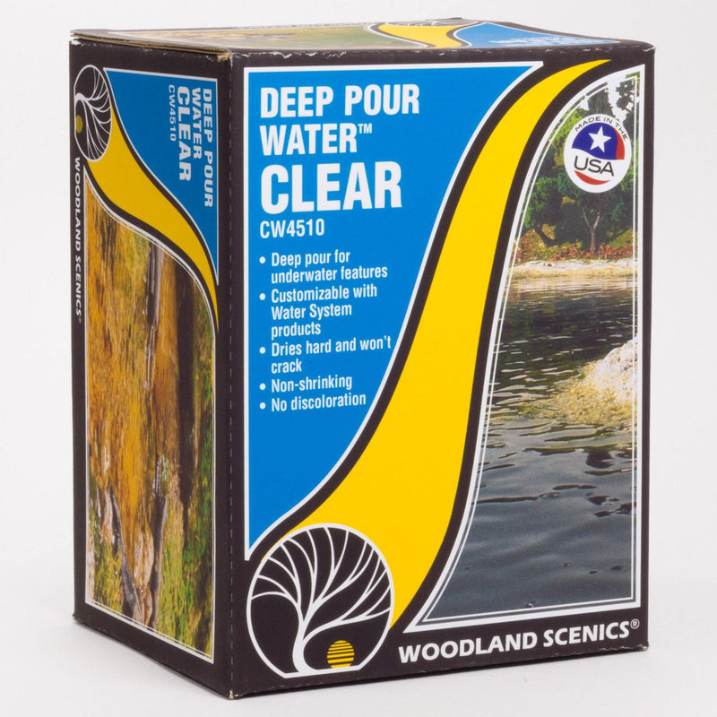Woodland Scenics CW4510 | Deep Pour Water™ - Clear.