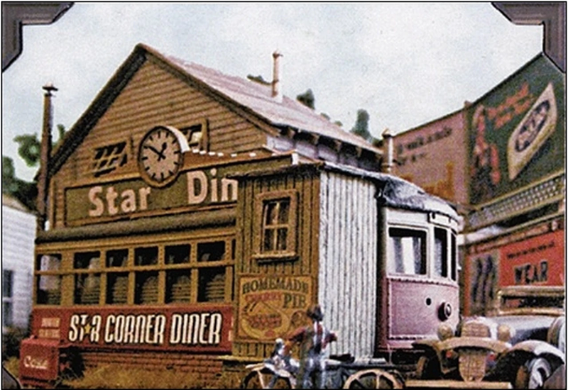 Star Corner Diner Kit | HO Scale | 602 - Squeaky's Trains & Things