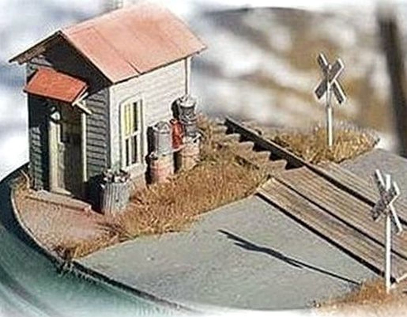 Twin Crossing Shack Kits (2-Pack) | HO Scale | 792 - Squeaky's Trains & Things