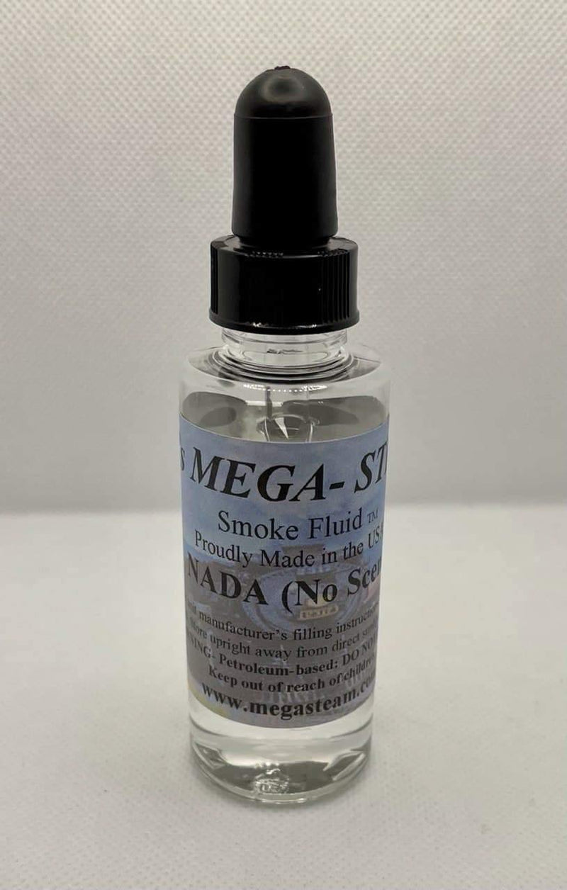 JT's Mega Steam 107 - Nada (unscented) Smoke Fluid 2 Oz. Bottle - Multi Scale.