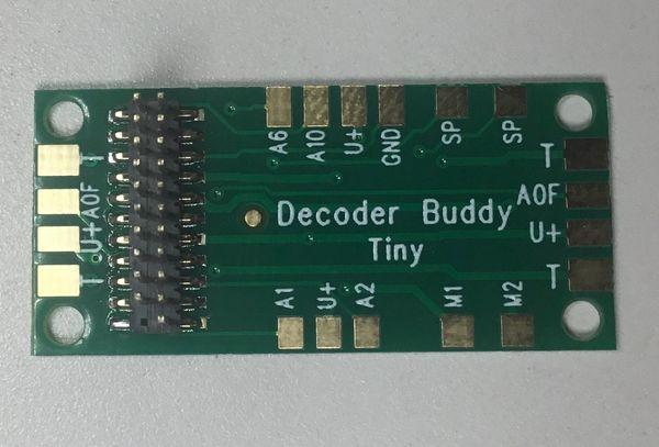 Decoder Buddy Mini (1k Ohm Resistors Onboard) - Squeaky's Trains & Things