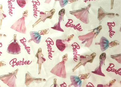 Barbie Inspired Fabric - [Designer Spandex and More]