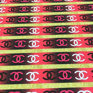 Chanel designer inpired fabric [designer spandex and more]